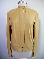 DONNA KARAN SIGNATURE COLLECTION lambskin leather jacket size 4 WORN ONCE