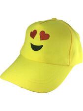 Adults Eye Hearts Emoticon Emoji Baseball Hat Costume Accessory