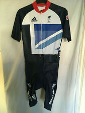 XL adidas skinsuit bike cycling team GB LONDON 2012 olympics (paralympics)SS TRA