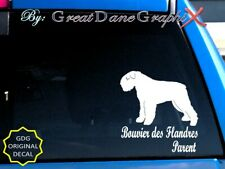 Bouvier des Flandres -Mom-Dad-Parent(s) Vinyl Decal Sticker -Color -High Quality