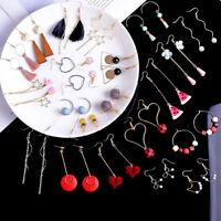 Women Hook Pendant Dangle Drop Earrings Eardrop Jewelry Animals Fruit Chian