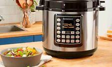 SilverCrest Multi-Functional Pressure Cooker 1000 12 Preset Programmes recipes