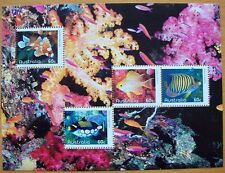 2010 AUSTRALIAN STAMP SHEET FISH