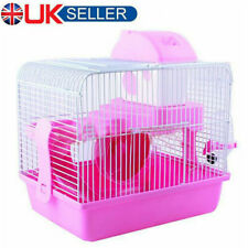 2 TIER Pet Cages Hamster Cage Gerbil Mouse Mice Storey Level Small