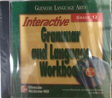 Grade 12 Glencoe Interactive Grammar and Language Workbook Cd-Rom Language Arts