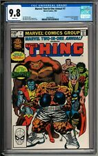 Marvel Two-In-One Annual #7 (1982) CGC 9.8 White! 1st Appearance The Champion!