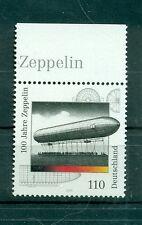 Allemagne -Germany 2000 - Michel n. 2128 - Dirigeables Zeppelin **