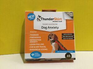 Thunder Shirt Insanely Calm Dog Anxiety Thunder FireWorks XS 8-14 Lbs