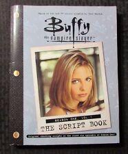 2000 BUFFY THE VAMPIRE SLAYER Script Book Season 1 Vol. 1 FN+ 6.5 1st Pocket PPB
