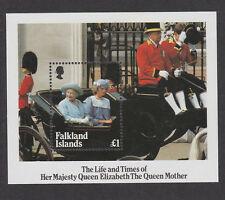 FALKLAND IS.1985 QUEEN MOTHER M/SHEET MS 509 MNH.
