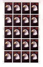USA MNH SC#2540 PANE 20 STAMPS AMERICAN EAGLE S-1599
