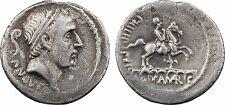 Denier, Marcia, Ancus Martius, 56 av J-C Rome, aqueduc, RARE - 1