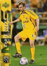 2006 Upper Deck MLS Columbus Crew Team Set (9 Cards) Hejduk Gaven Martino