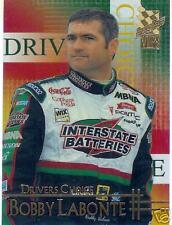 2002 press pass Vip Drivers Choice  Bobby Labonte