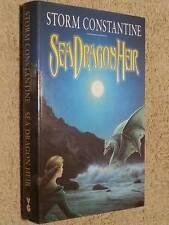 Storm Constantine SIGNED Sea Dragon Heir UKHC 1st Edn