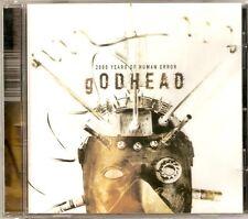 Godhead - 2000 Years Of Human Error (CD 2001) NEW
