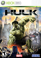 The Incredible Hulk Xbox 360 Kids Game Marvel Avengers Collectible 1 Rare