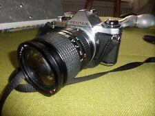 ANCIEN APPAREIL PHOTO PENTAX ME SUPER camera objectif TOKINA 28/70 mm lens