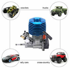 4.57CC 28-Stage Side Row Nitro Power RC Car Engine for RC Crawlers/Buggy/Rally C