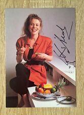 ANDREA HEUER Autogramm handsigniert Schauspielerin Schloß am Wörthersee Original