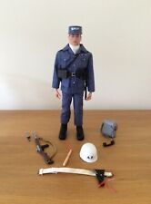 Vintage 1/6 scale 1966 Palitoy Action Man Pilot, Air Police Dressed Figure.