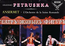 SXL 2011 UK WBG ED1 - STRAVINSKY - PETRUSHKA - ANSERMET - BLUE BACK BORDER EX/NM