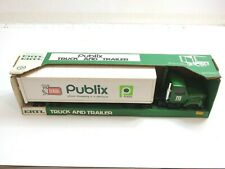 VINTAGE NEW ERTL PUBLIX 18 WHEELER STEEL TOY TRACTOR TRAILER NO 9959 USA 20""