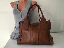 Fossil XL Tasche Weekender Bag Tote Genuine Leather Large Leder Reisetasche