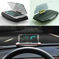 Creative Vehicle Mount HUD Head Up Display Holder for IPhone Samsung Smart Phone
