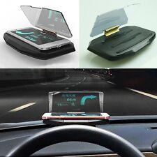 Creative Vehicle Mount HUD Head Up Display Holder for IPhone Samsung Smart Phone