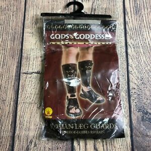 Gods & Goddesses Roman Leg Guards Halloween Dress Up Outfit NEW NWT