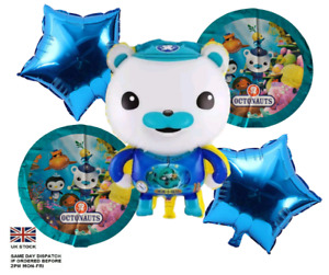 "New Large Octonauts balloon Captain Barnacles 26"" party decoration set"