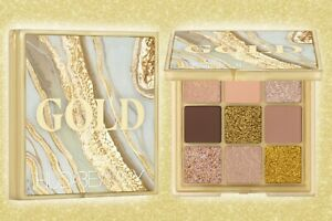 New Huda Beauty Eyeshadow Gold Palette Waterproof