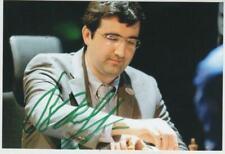 Échecs Chess Schach VLADIMIR KRAMNIK signed photo autograph