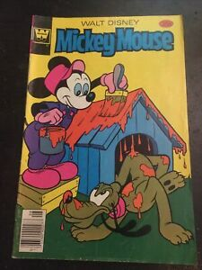 Walt Disney Mickey Mouse#186 Awesome Condition 6.0(1978)