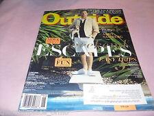 Outside Magazine June 2016 Weekend Escape Moab California Vermont Montana Hike