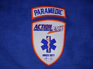 Action EMS-Paramedic Patch