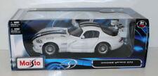 Modellini statici di auto, furgoni e camion blu per Dodge Scala 1:18