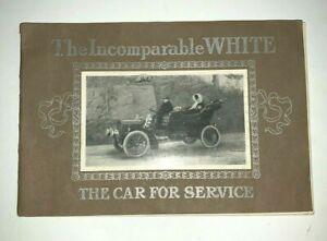 Ca 1905 White Steam Car Catalog or Brochure