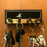 Guitar Keychain Holder Key Storage Marshall Rack Electric Vintage Amplifier Gift