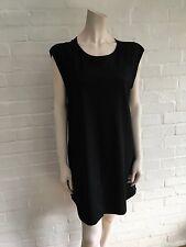 3.1 Phillip Lim black virgin wool sleeveless dress Size US 8 UK 12 L Large