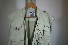 ExOfficio Travel Wear Mesh Vest Fishing Photography Pockets Outdoors Mens XL