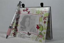 Daughter Magnetic Paper Note Pad & Themed Banner Pen-Personalize GREAT Gift NEW!