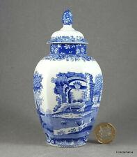 More details for small spode italian hexagonal temple / ginger jar - free uk post
