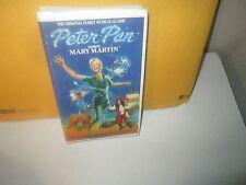 PETER PAN rare Family Musical vhs MARY MARTIN Cyril Richard 1980s