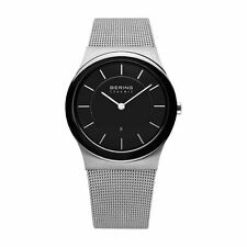 Runde BERING Unisex Armbanduhren aus Edelstahl