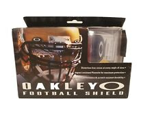 Oakley Football Helmet Visor Eye Shield Clear Tint With Bag Of Hardware