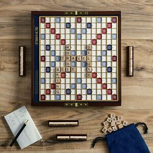 Scrabble Deluxe Travel Edition Free Shipping