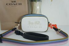 NWT Coach 97654 Jes Convertible Belt Bag Leather Horse Carriage Crossbody $328