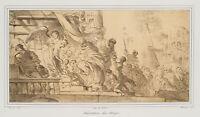 VILLAIN, nach Maurin und BOURDON, Die Anbetung der Könige, Lith., 19. Jhd.